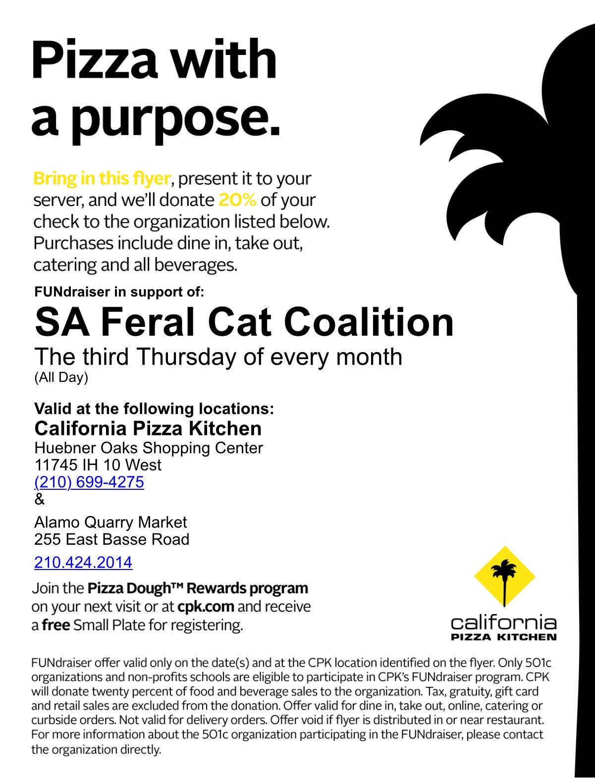 Calendar : San Antonio Feral Cat Coalition